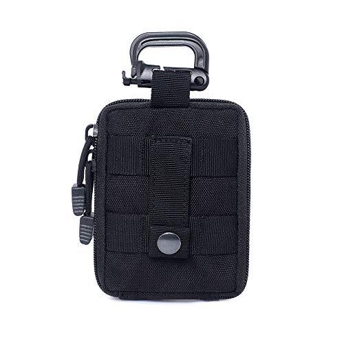 MEROURII Bolsa De Supervivencia De Emergencia Kit De Primeros Auxilios para Viaje Deportivos Hogar Bolsa Médica Bolsa De Rescate Al Aire Libre (Negro)