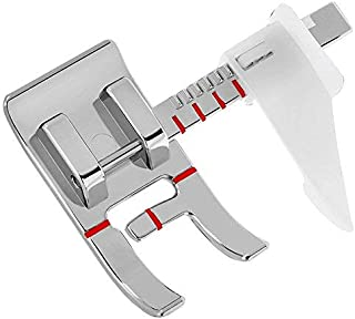 Professional Domestic Sewing Foot Presser Foot Presser Feet Set for Singer, Brother, Janome,Kenmore, Babylock,Elna,Toyota,New Home,Simplicity and Low Shank Sewing Machines (Adjustable Guide Foot)