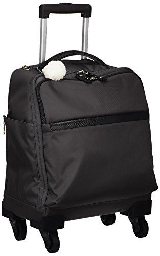 [カナナ プロジェクト] スーツケース カナナマイトロリー サイレントキャスター搭載 ソフトキャリー 100席以上機内持込み対応 南京錠付き 19L 55272 機内持ち込み可 35 cm 2kg ブラック