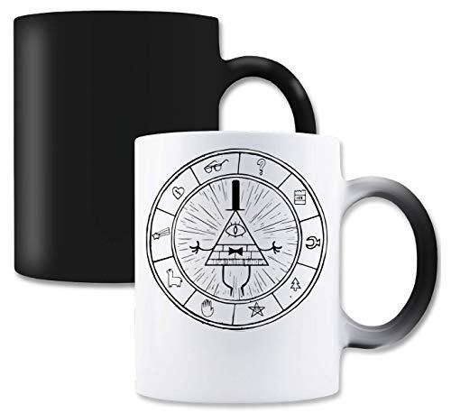 RaMedia Gravity Falls Symbol Artwork Sci-fi Series Be Magische Tee-Kaffeetasse
