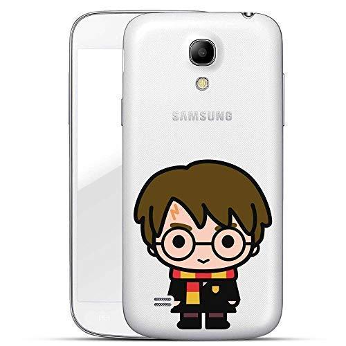 Harry Potter Chibi Serie Custodia Rigida Samsung Galaxy S4/S4 Mini - Harry Potter Chibi Trasparente, Samsung Galaxy S4 Mini