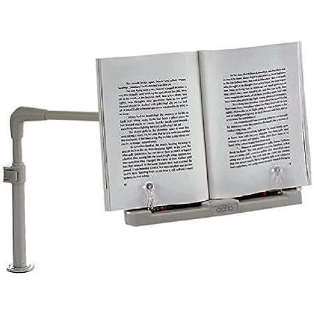 I.T outlet 【 ブック & タブレットPC スタンド 】 デスク アームスタンド 読書スタンド 角度 高さ調節 ストッパー オフィス タブレットスタンド AZ-BST-22