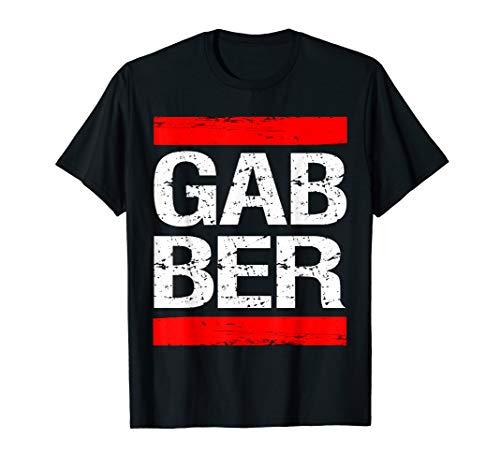 Gabber Wear Uptempo Gabber Outfit Geschenk T-Shirt