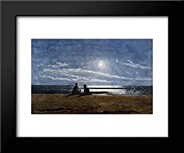 Moonlight 24x20 Framed Art Print by Winslow Homer