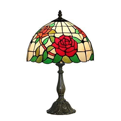 XZhstes Tiffany Estilo artístico Creativo Ambiente Lámparas Lámpara de Mesa for el Dormitorio 110-120V / 220-240V