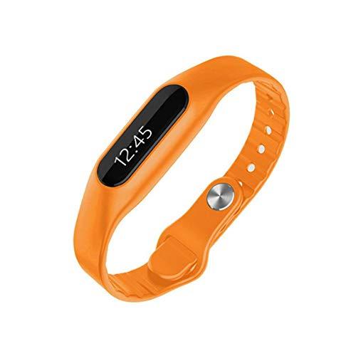 Meiibo Bluetooth Fitness Armband mit Pulsmesser Fitness Trackers Uhr Wasserdicht Schrittzähler Pulsuhr Sport Aktivitätstracker Schlafmonitor für Kinder Damen Männer