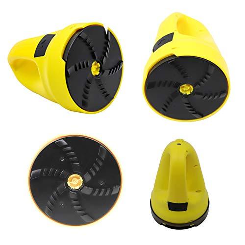 Blingbin Rascador de hielo eléctrico, carga USB, rasqueta de hielo para el parabrisas del coche, raspador de nieve, herramienta de limpieza de ventanas