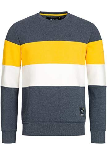 Indicode Caballeros Gavel Sudadera con Puños Acanalados | Caliente De Moderno Invierno Sweater Jersey Hombre para Hombres
