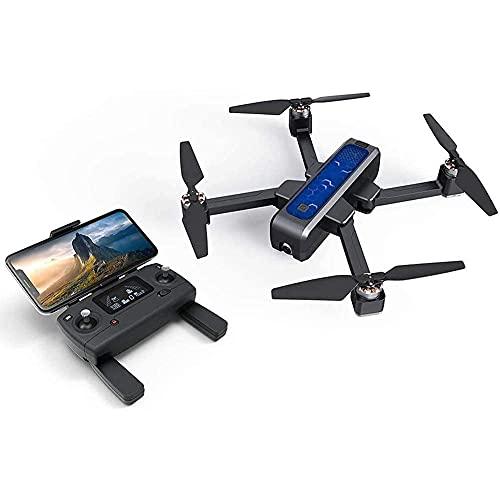 YYAI-HHJU Drone GPS, Drone con Fotocamera per Adulti Drone GPS Brushless 5G WiFi FPV con Fotocamera 2K Flusso Ottico OLED Commutabile Remote Brushless Pieghevole Rc Drone Quadcopter Rtf