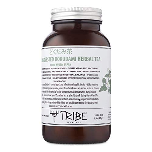 Tribe Skincare Wild Harvested Dokudami Herbal Tea (どくだみ茶) from Kyoto, Japan