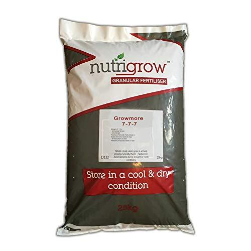 Nutrigrow Growmore Plant, Tree & Vegetable Fertiliser 25KG