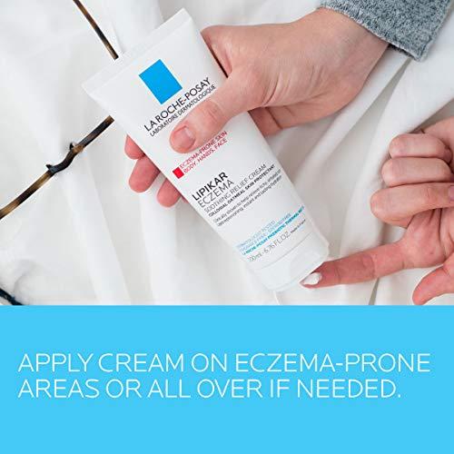 La Roche-Posay Lipikar Soothing Relief Eczema Cream, 6.76 Fl Oz