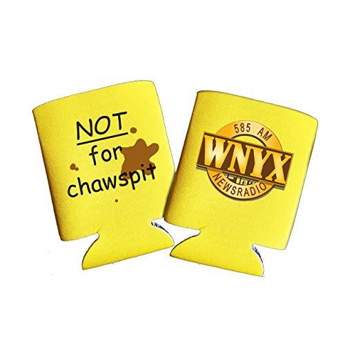 News Radio WNYX Yellow Kuzie drink insulator