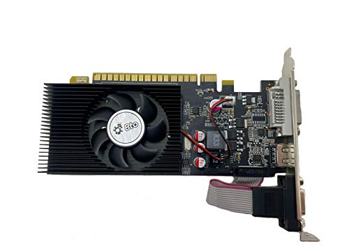 BTO NVIDIA GeForce GT 730 4GB VGA DVI HDMI PCI-E Video Graphics Card Dual Monitor Support for Desktop / Tower