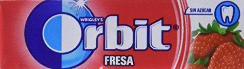 Orbit Chicles Sabor Fresa - Paquete de 30 x 14 gr - Total: 420 gr