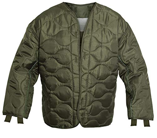 Rothco M-65 Field Jacket Liner, Olive Drab, M