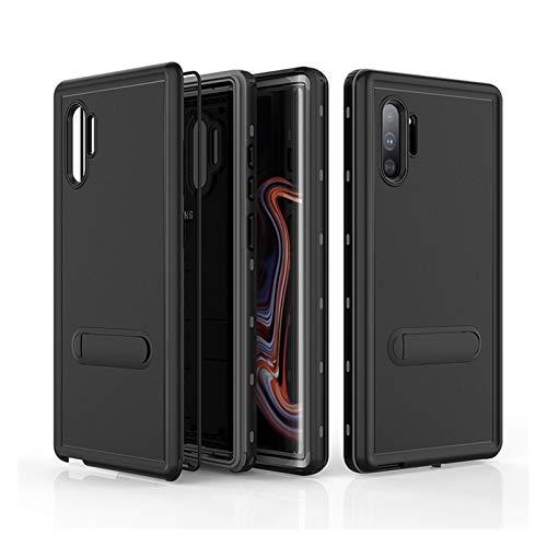 LBWNB Carcasa de telefono IP68 Funda Impermeable Real Fit For Samsung Galaxy Note 10 Plus 9 S9 S10 Plus Case Cubierta a Prueba de Agua Natación Puntos de protección Completa