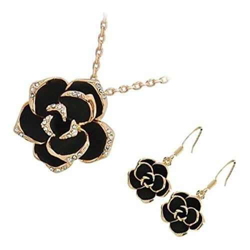 GWG Jewellery Juego de Joyas Mujer Regalo Conjunto Collar y Pendientes