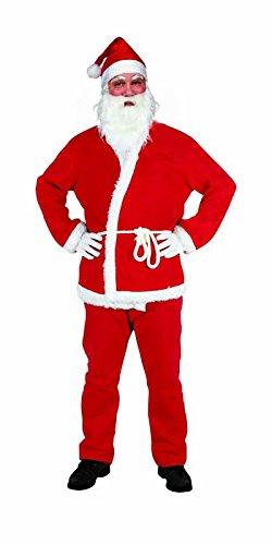 Rubie's IT00003 - Babbo Natale Costume, in Panno, Adulto, Taglia Unica