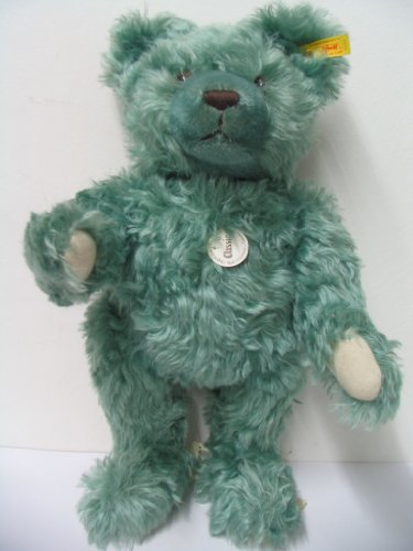 Steiff Classic Teddy Bear Turquoise 40 cm with Voice