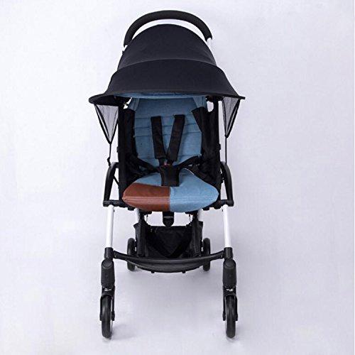 Xcellent Global protection solaire UPF 50+ ombrelle, couverture, bouclier contre le soleil pour poussette, landau, porte-bébé SP040