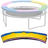 NONMON Cubierta de Borde de Trampolín, 305 cm Cojín de Seguridad Resistente a Rayos UV, Almohadilla de Repuesto Protección para Camas Elásticas, Multicolor