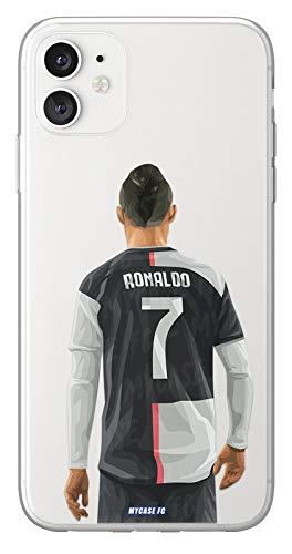 MYCASEFC - Cover Calcio Personalizzabile Cristiano ASUS Zenfone 3 Max ZC553KL in Silicone, Custodia da Calcio per Smartphone personalizzata e realizzata in Francia in TPU