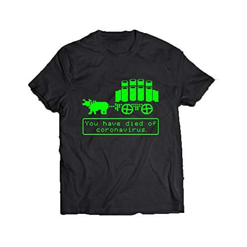 Novaon Store Oregon Trail Cor-o-navir-us Pandemic Black Shirts Unisex