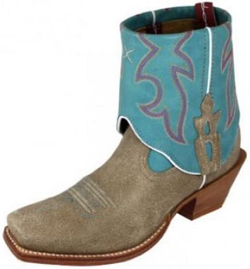 Twisted X Womens Steppin Out Cuff Tan Cowboy Western Boots Size 7 5 product image