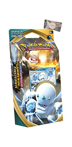 ★ Pokémon Schwert & Schild Flammende Finsternis - Deck Galar-Flampivian + stickermarkt24de Gum