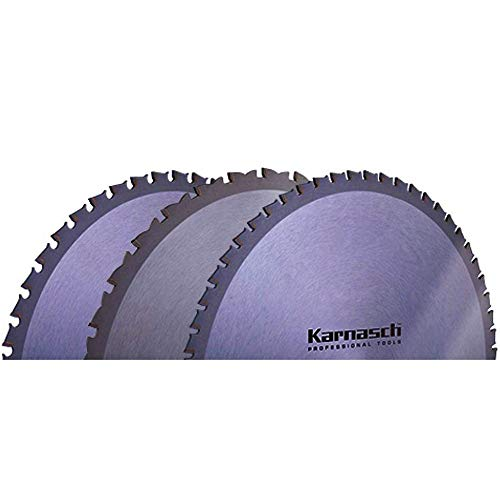 Hoja de sierra circular de metal duro, amoladora angular, hoja de sierra, hoja de sierra brutal desechable, 420 x 2,8 x 30 mm, 42 WZ