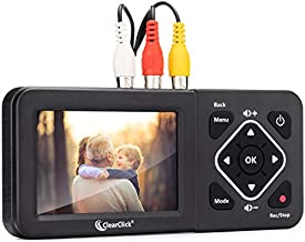 ClearClick Video to Digital Converter 2.0 (Second Generation) - Record Video from VCR's, VHS Tapes, AV, RCA, Hi8, Camcorder, DVD, Gaming Systems