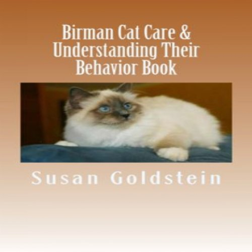 Birman Cat Care & Understanding Their Behavior Book cover art