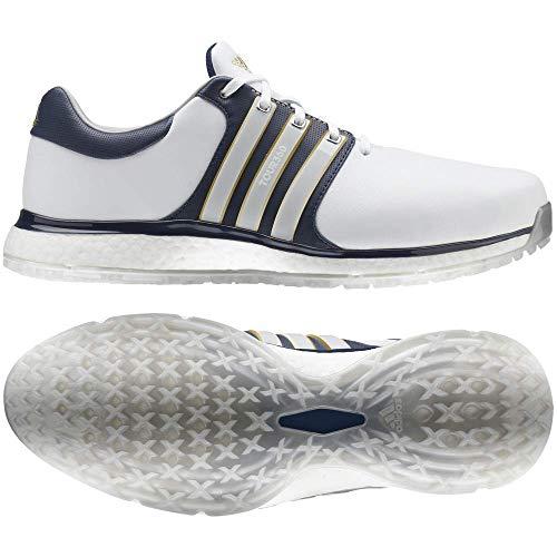 adidas Tour360 Xt-SL(Wide), Scarpe da Golf Uomo, Bianco (Blanco/Navy F34991), 42 EU