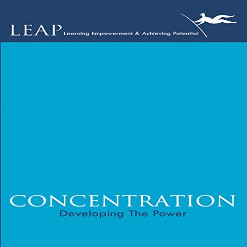 Concentration: Developing the Power audiobook cover art