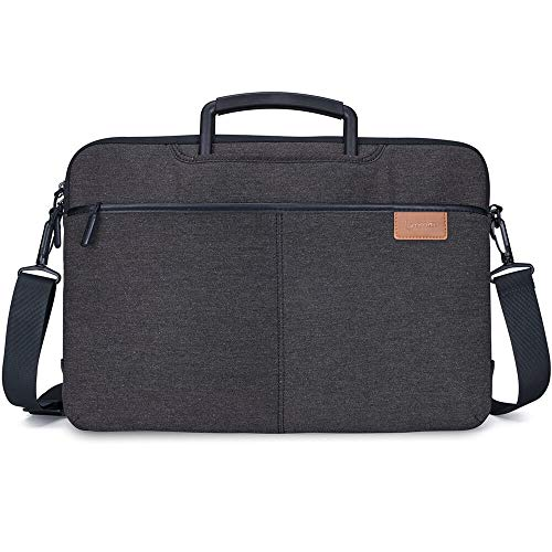 Lymmax-laptoptas, 10-14 inch laptoptas met schouderriem, waterdichte laptop aktetas laptoptas tas hoes voor Dell/HP/Lenovo/Acer/Asus/Chrome