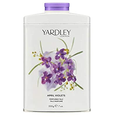 Yardley Of London April Violets Perfumed Talc for her