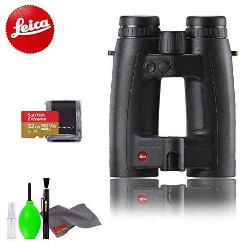 Sale!! Leica 8x42 Geovid HD-B Rangefinder Binocular with Memory Card Kit and Cleaning Kit