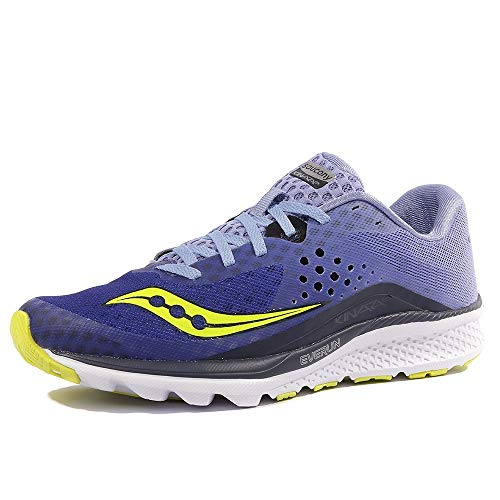 Saucony Women's Kinvara 8 Running Shoe, Navy Purple, 8...