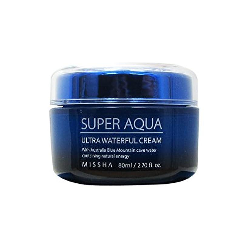 居眠りする先祖気がついてMissha Super Aqua Ultra Waterful Cream 80ml [並行輸入品]