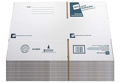 Seal-It Medium Mailing Box, 14 x 10 x 5.5 Inches, 25 Pack