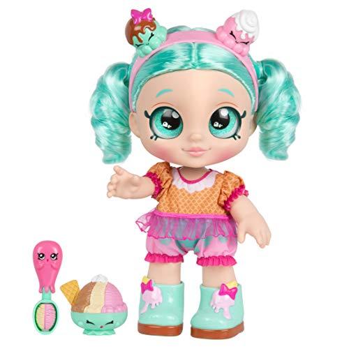 Kindi Kids Snack Time Friends Pre school 10 inch doll Peppa-Mint
