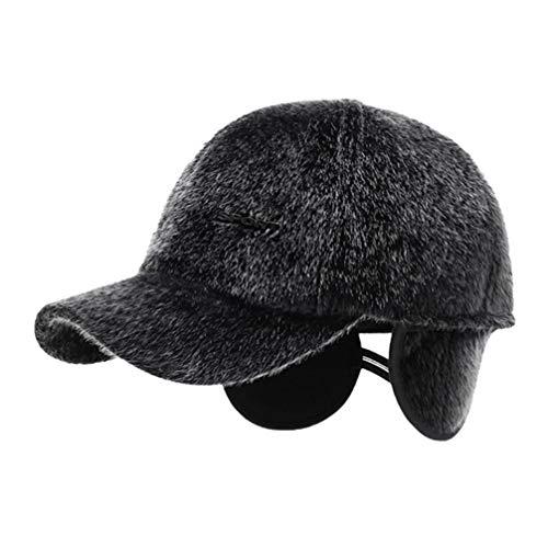 BESPORTBLE Winter Spitzenkappen einstellbar tragbares Ohrenklappen Hut Golfkappe Baseballmütze Baseball-Mütze für den Winter Outdoor-Sport