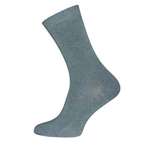 Ewers Socken für Herren mit Komfortbund, MADE IN GERMANY, Baumwolle, Herrensocken, uni, Basic