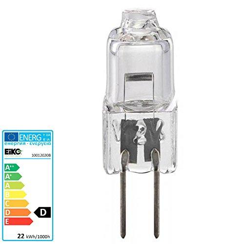 S+H Halogen-Backofenlampe 8x31mm Sockel G4 12 Volt 20 Watt 300 Grad