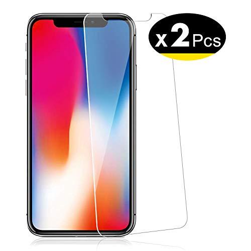 bon comparatif NEW'C Lot de 2, Verre Trempé pour iPhone 11 Pro, iPhone X, iPhone XS (5.8″), Film Protection… un avis de 2021