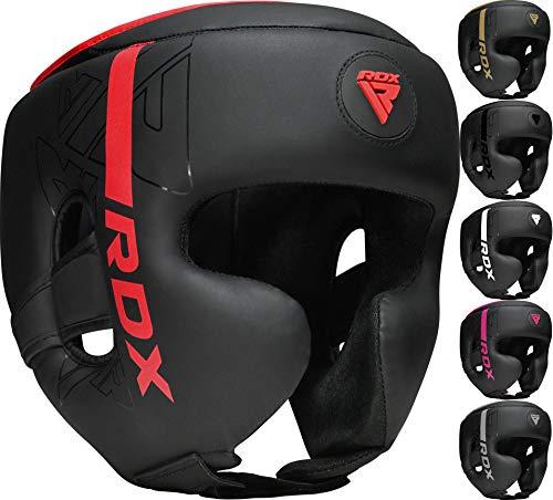 RDX Cascos Boxeo Helmet MMA para Entrenamiento y Muay Thai, Maya Hide...