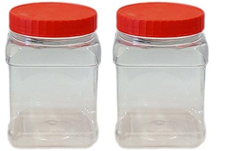 Sunpet Aufbewahrungsbehälter für Lebensmittel, Kunststoff, Rot, Plastik, rot, 19 x 9.5 x 13.5 cm