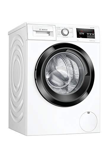 Bosch WAU28U00 Serie 6 Waschmaschine Frontlader / C / 66 kWh/100 Waschzyklen / 1400 UpM / 9 kg / Weiß / EcoSilence Drive / VarioTrommel