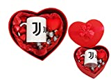Irpot Idea Regalo San Valentino Scatola Cuore con Tazza Squadra e Cioccolato KITSV33 (Juventus)